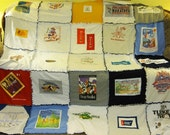 RESERVED for imamess: 30-square T-shirt Quilt