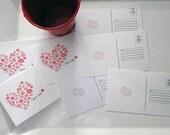 Envoyer des cartes postales de baisers