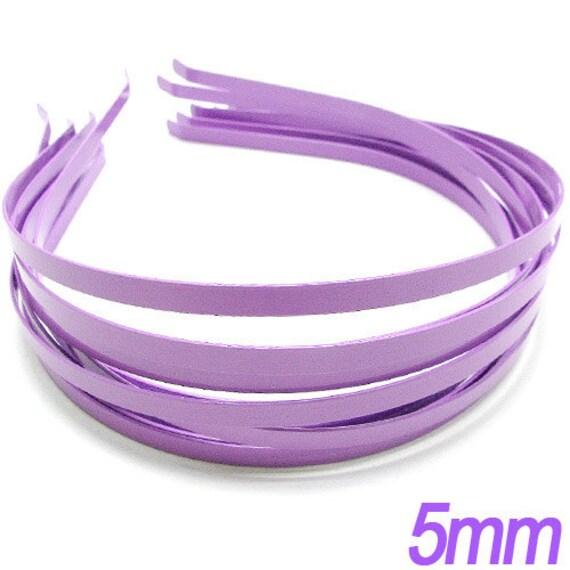 20PCS 5mm Purple metal Headband 12.5 x 14 x 5mm Very good quality (17-16-147)