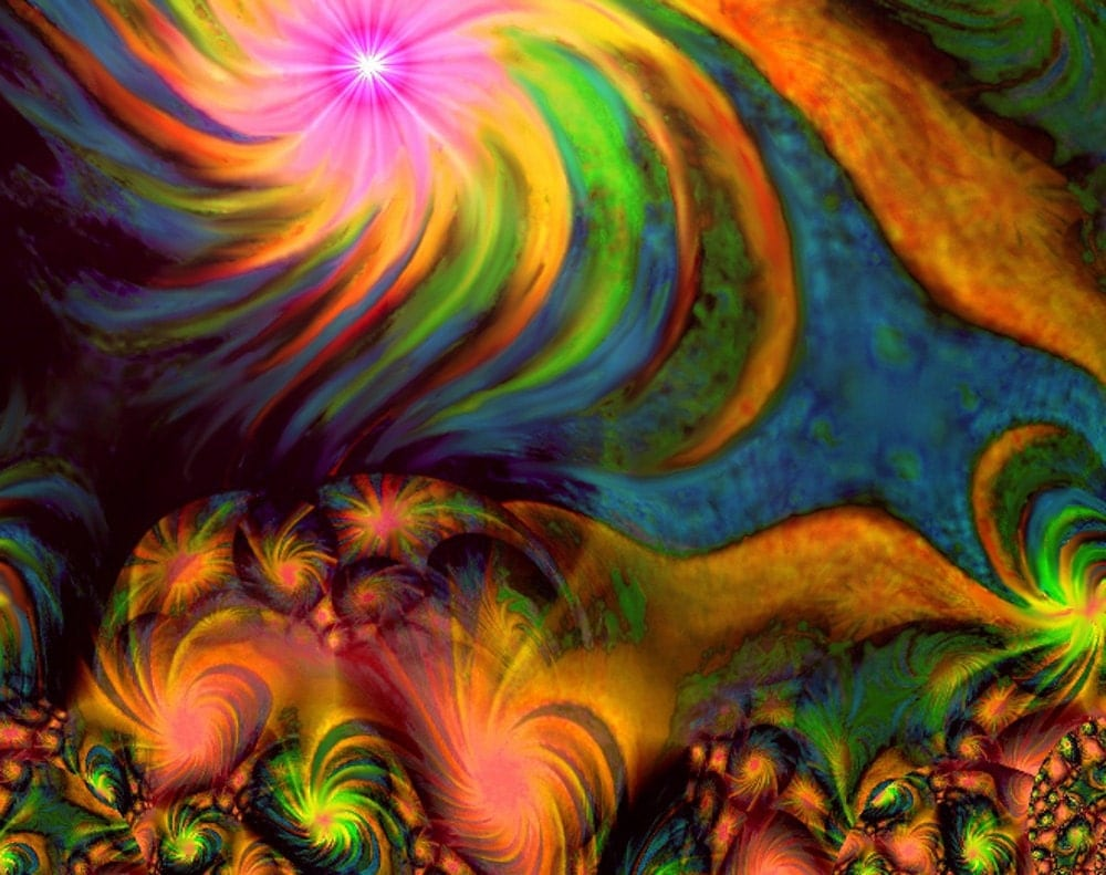 """Summer Abstract: Items Similar To Abstract Art Autumn Energy Art """"Summer To"""