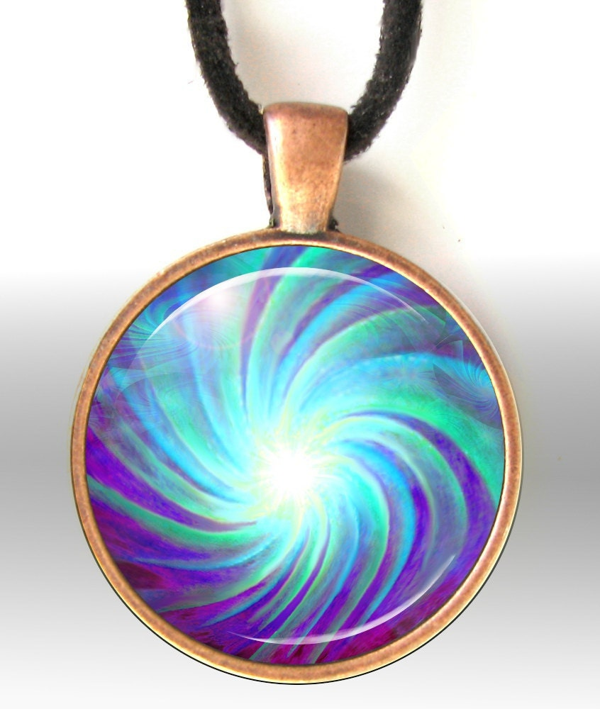 Chakra Pendant Reiki Jewelry Energy Art Pendant By