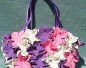 Swim Cap Bag - Purple Trio