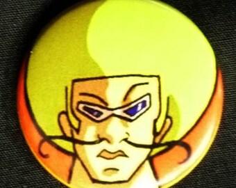 Bobobo-bo Bo-bobo Pin Button Badge 1.25 inch