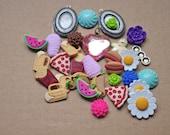 Cabochon Distash Kawaii Jewelry Supply Lot - Great jewelry starter kit (M)