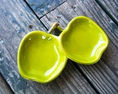 STORE CLOSING- 50% OFF- Coupon Code in store announcements- Vintage-Double Apple Dish