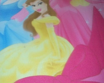Toddler Character Blanket with Hand Edging - Disney Princess