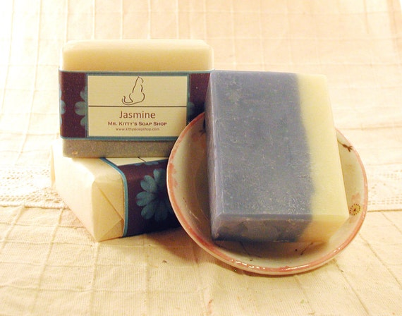Jasmine - Hand Crafted Shea Butter Soap