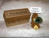 Paper Shoe Pocahontas  Inspired Collectable High Heel Shoe Gift Box