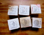 Wooden Fraction Stamps