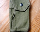 Vintage US Army M-14  Rifle Ammunition Magazine Pouch