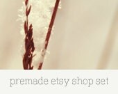 Premade Etsy Shop Set - Nature 03