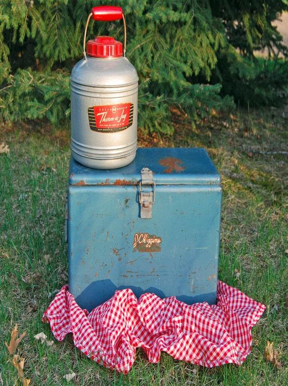 Vintage JC Higgins Ice Chest/ Cooler