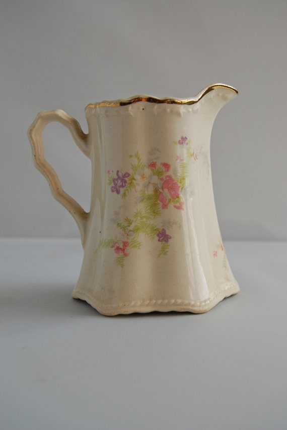Floral Coffee/Tea Creamer