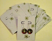 Let It Snow  36 Earring Display Cards