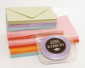 Assorted Paper Source Envelopes - Paper Source Ribbon