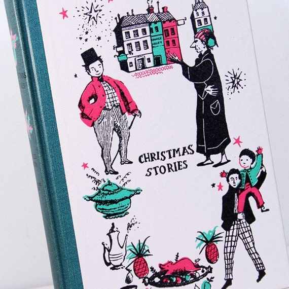 "Vintage Junior Deluxe Editions Children's Book: ""Christmas Stories"" (Dickens) - 1950's"