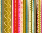 Michael Miller Erin Stripe Amber Fabric