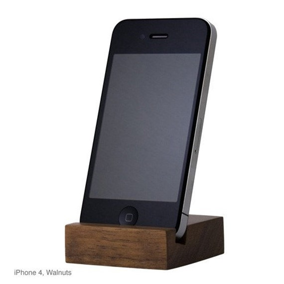 Apple iPhone 4/4S Wood Stand (PS002-4WWN)