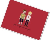 The *Original* Pixel People - Shaun of the Dead - PDF Cross Stitch Pattern - INSTANT DOWNLOAD