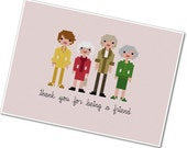 The *Original* Pixel People - The Golden Girls - PDF Cross-stitch Pattern - INSTANT DOWNLOAD