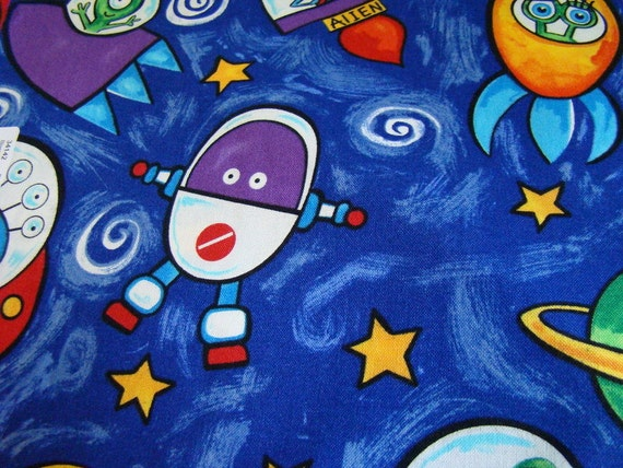 Alien fabric by blank textiles last yard for Alien fabric