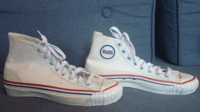 vintage original keds 1950s 1960s canvas sneakers shoes hi