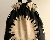 Linen Floral Handbag