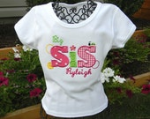 Big, Bigger, Middle,or  Little SiS Shirt - Personalized