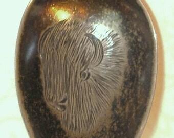 Antique Sterling Silver Souvenir Spoon Early Tourism