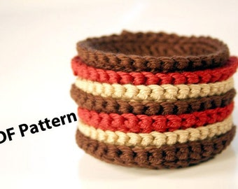 Crochet PDF Pattern - Face Scrubbies / Coasters - DIY Digital Printable - Make it Yourself