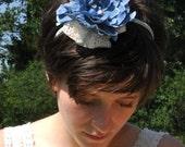 Lacey flower headband