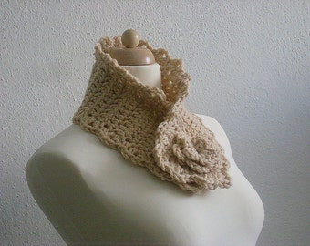 Warm Me - LiGHT CAMEL, LiGHT BROWN - Neckwarmer, Necktie, Cowl