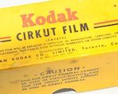 Vintage Kodak Cirkut Film and Box, Tag 2047