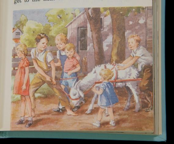 Vintage Children's Reader The Friendly Village
