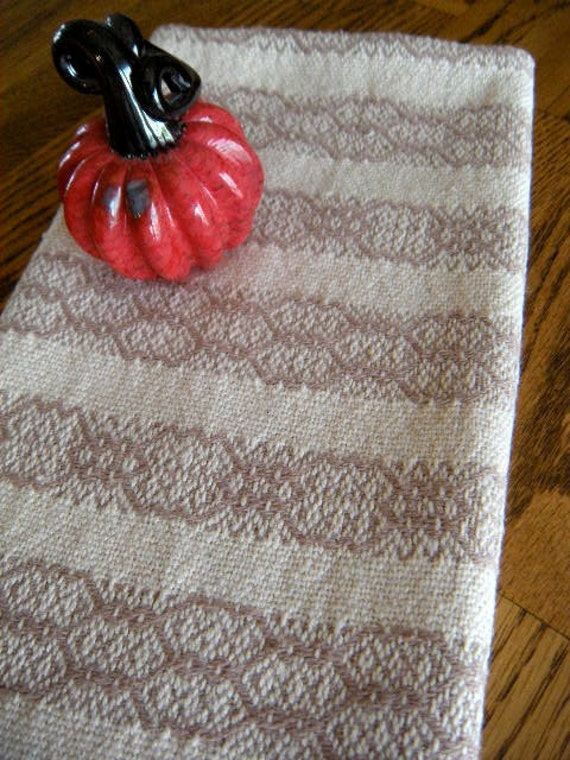 Handwoven towel - Twill Stripes