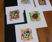 Ladybug Original Prints - All five individually hand signed, numbered, dated