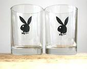 Vintage Playboy Bunny Glasses