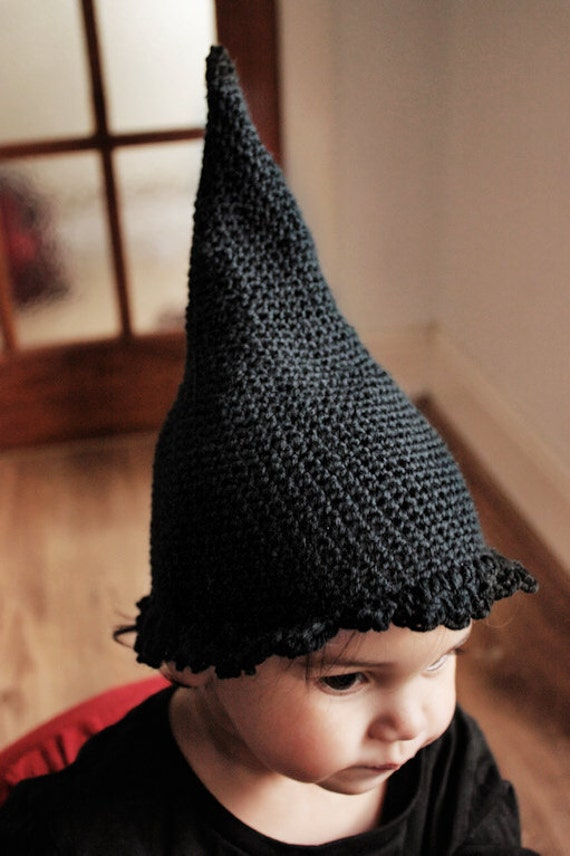 2T to 4T Toddler Witch Hat, Halloween Costume, Kids Halloween Hat, Childrens Witch Costume, Black Halloween Witch Hat, Halloween Photo Prop