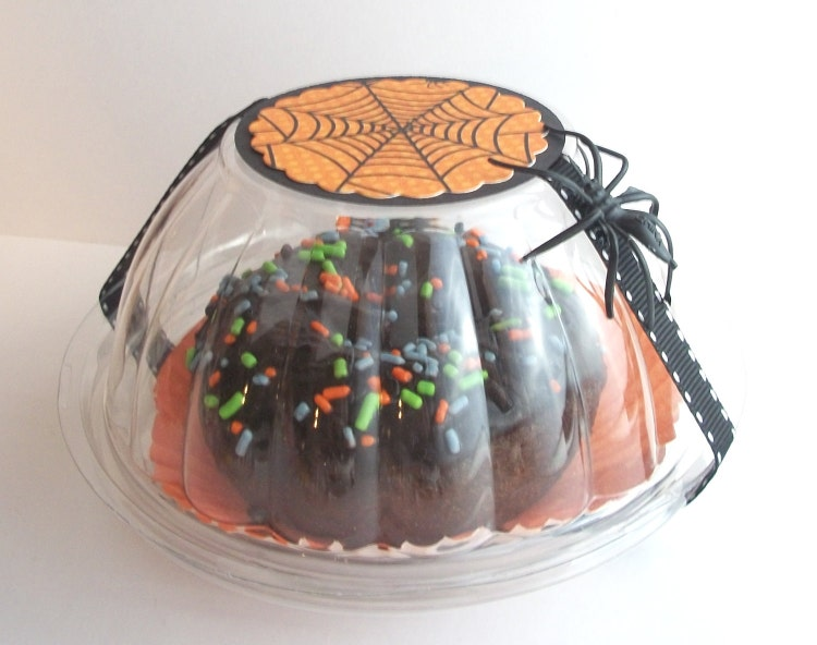 48 Clear Plastic Mini Bundt Cake Favor By Justalittlefavorshop