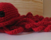 Amigurumi Jellyfish, Red
