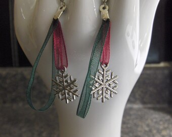 Snow Flake Earrings for the Holidays