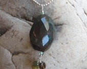 Funky Chunky Bloodstone Pendant