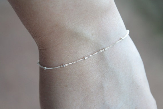 Satellite bracelet - Sterling silver