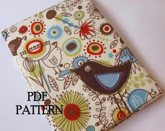 Journal Cover PDF Pattern Direct Download - 'Little Bird'