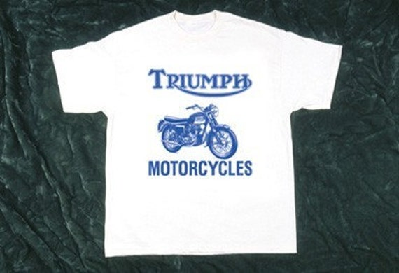 bob dylan hwy 61 triumph motorcycle t shirt