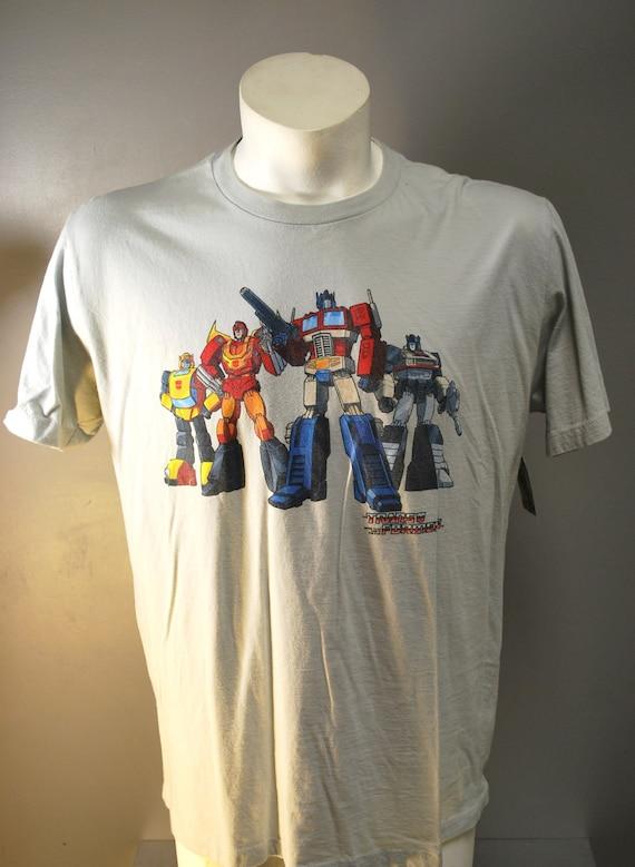 Vintage TransFormers TShirt / Tee / Tee Shirt / Shirt / Graphic Tee /  Large /