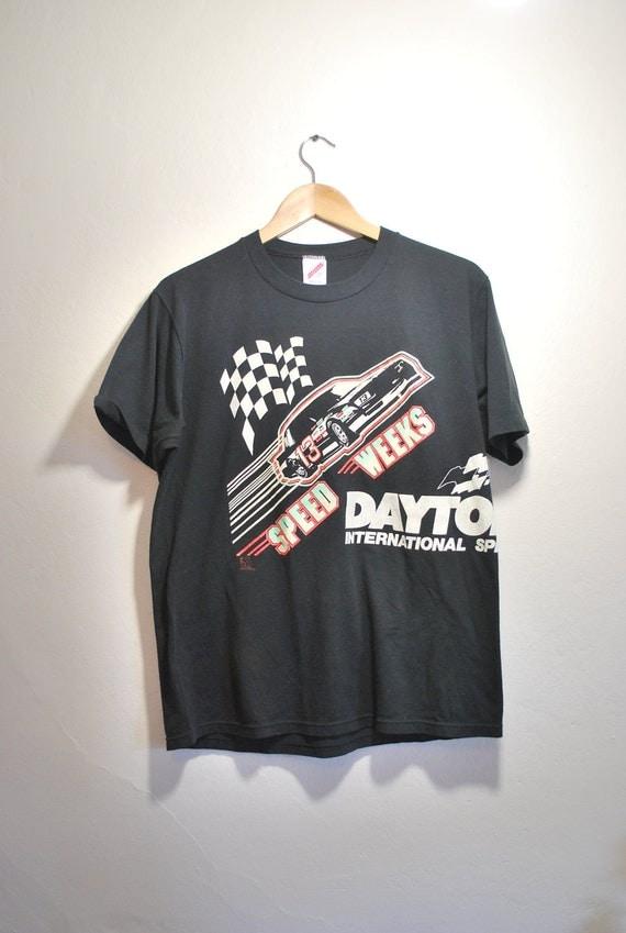Vintage Tshirt  tee shirt NASCAR  Daytona 50/50 Jerzees USA