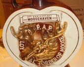 Order of the Moose Decanter 50th Anniversary Halburton