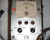 Radio tube cathode tester