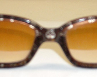 Italian Design Sunglasses Brown with Flair